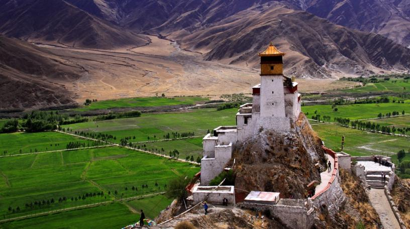 First Palace in Tibet